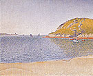 Port of Saint Cast Opus 209 1890 - Paul Signac reproduction oil painting