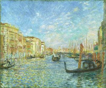 Grand Canal Venice 1881 - Pierre Auguste Renoir reproduction oil painting