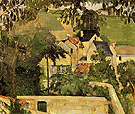 Quartier Four Auvers sur Oise c1873 - Paul Cezanne