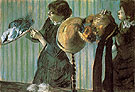 Milliners 1882 - Edgar Degas reproduction oil painting
