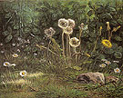 Dandelions 1867 - Jean Francois Millet reproduction oil painting
