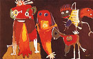 Hip Hip Hooray 1949 - Karel Appel reproduction oil painting
