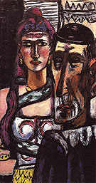 Performers 1948 - Max Beckmann reproduction oil painting