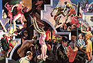 City Activities with Subway 1930 - Thomas Hart Benton