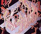 Vision of Ezekiel 1912 - David Bomberg