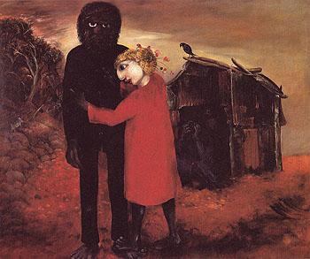 Half caste Child 1957 - Arthur Boyd reproduction oil painting
