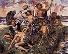 Ariadne of Naxos 1913 - Lovis Corinth reproduction oil painting