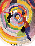 Political Drama 1938 - Robert Delaunay reproduction oil painting