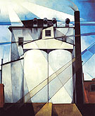 My Egypt 1927 - Charles Demuth reproduction oil painting