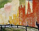 The Houses of Parliament from Westminster Bridge c1906 - Andre Derain