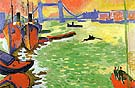 The Thames and Tower Bridge c1906 - Andre Derain