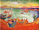Boats at Collioure Harbor 1905 - Andre Derain