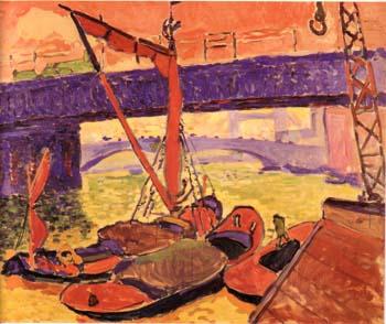 The Bridge at Southwark c1905 - Andre Derain reproduction oil painting