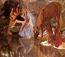 Mlle Fiocre in the Ballet c1867 - Edgar Degas reproduction oil painting