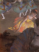 Ballet from an Opera Box 1884 - Edgar Degas reproduction oil painting