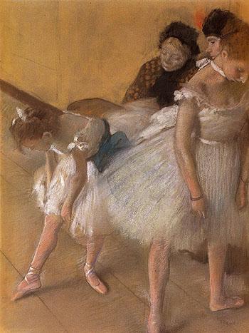 Dancer Examination 1880 - Edgar Degas reproduction oil painting