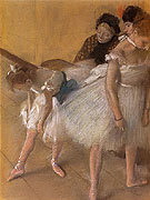 Dancer Examination 1880 - Edgar Degas reproduction oil painting