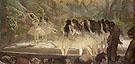 Ballet at the Paris Opera 1877 - Edgar Degas reproduction oil painting