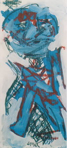 Blue Boy 2002 - Karel Appel