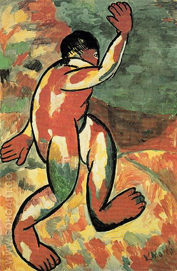Bather 1911 - Kasimir Malevich reproduction oil painting