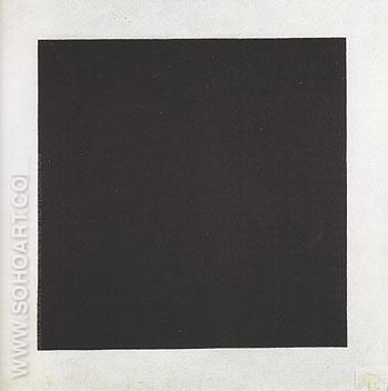 Black Square c1923 - Kasimir Malevich reproduction oil painting