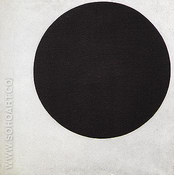 Black Circle c1923 - Kasimir Malevich reproduction oil painting