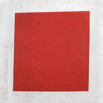 Red Square 1915 - Kasimir Malevich reproduction oil painting