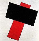 Suprematist Composition c1923 - Kasimir Malevich reproduction oil painting