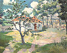 Springtime 1927 - Kasimir Malevich reproduction oil painting