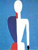 Half length Portrait c1928 - Kasimir Malevich