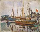 Port du Havre c1906 - Raoul Dufy