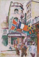 July 14 in Le Havre 1906 - Raoul Dufy