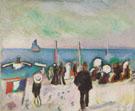 La Plage de Sainte Adresse 1906 - Raoul Dufy