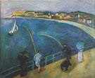 La Plage de Sainte Adresse 1907 - Raoul Dufy