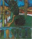 Paysage au Chasseur 1908 - Raoul Dufy