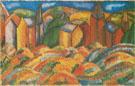 Les Maisons rouges de Sainte Adresse 1910 - Raoul Dufy