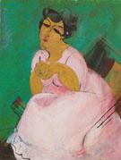La Dame en Rose 1912 - Raoul Dufy