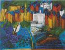 Sailboat at Sainte Adresse 1912 - Raoul Dufy