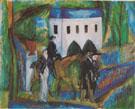 La Promenade 1913 - Raoul Dufy