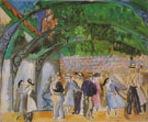 July 14th in Vence 1920 - Raoul Dufy