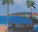 La Baie des Anges Nice - Raoul Dufy