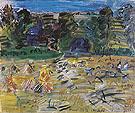 Soir de Moisson Normandie c1935 - Raoul Dufy