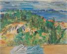 Sainte Maxime 1940 - Raoul Dufy