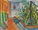 Le Jardin a Caldas de Montbuy au Soleil c1945 - Raoul Dufy