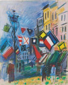 Flage 14th of July 1950 - Raoul Dufy