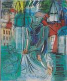 Baigneuse au Havre 1935 - Raoul Dufy