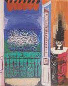 Fenetre Ouverte Devant la Mer 1923 - Raoul Dufy