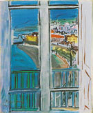 Window on the Promenade des Anglais - Raoul Dufy