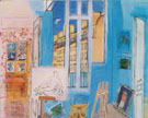 The Artists Studio 1935 - Raoul Dufy