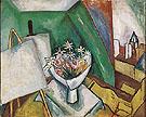 Le Bouquet dans latelier de la rue Seguier 1909 - Raoul Dufy